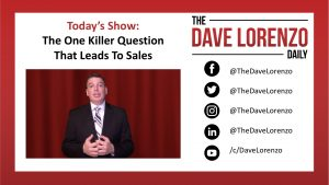 One Killer Question to Help with Sales