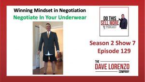 Negotiate in Your Underwear
