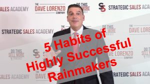 Five Sales Habits