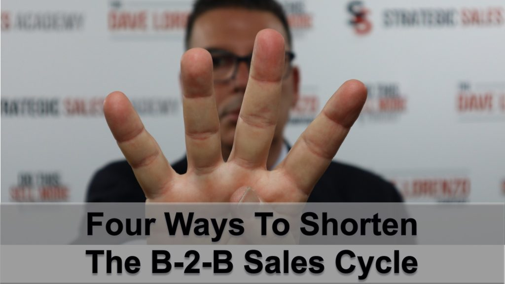 Four Ways to Shorten B2B