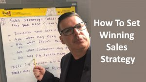 How To Set Winning Sales Strategy
