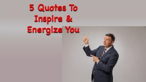 Inspirational Sales Quotes