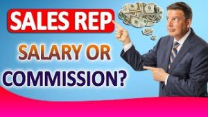 Sales representative Compensation