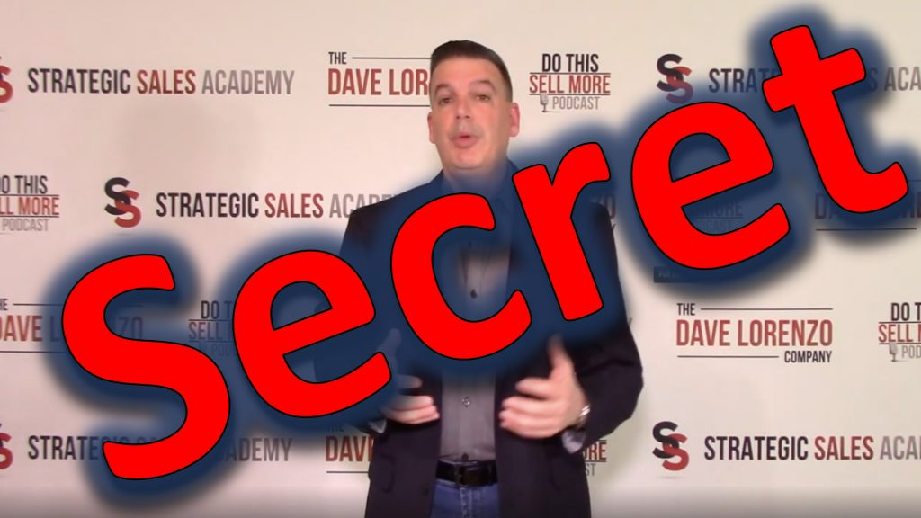 Secret Sales Video