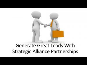 Strategic Alliance Partnership